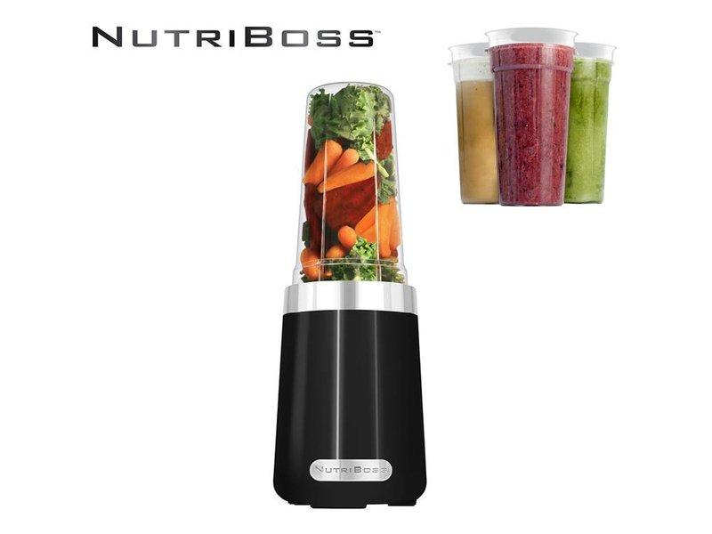 NutriBoss Blender Black