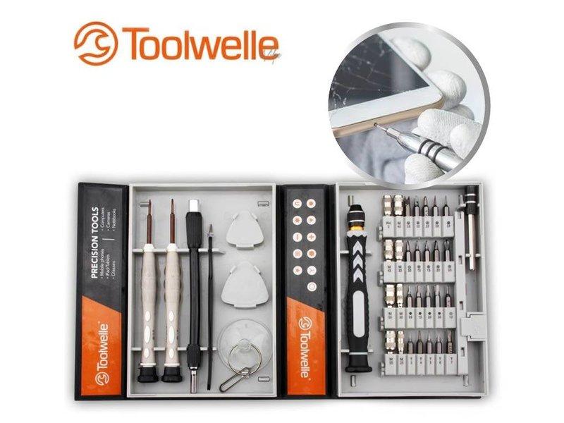 Toolwelle Precisie Screwdriver set