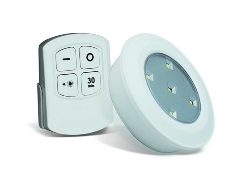 5-pack Led Light - Wireless with remote
