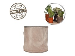 Scotts Bluf Lederen bloempot Taupe 32 Size L