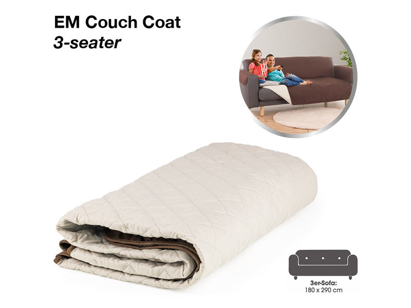 EM Slipcover Couch Coat for 3-seaters