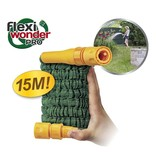Pocket Hose Flexi Wonder Pro 15m Flexibele Tuinslang+ Nozzle