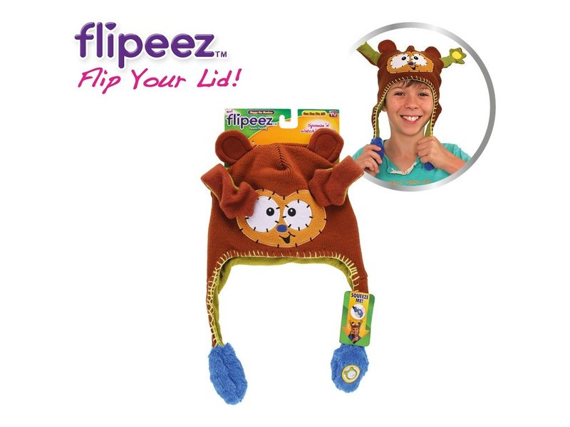 Flipeez Hat Huggy the Monkey