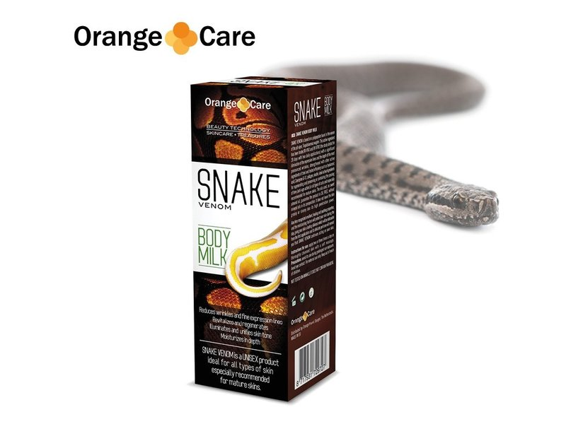 Orange Care Snake Venom Bodymilk