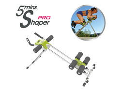5 Minute Shaper PRO - Fitness Device - Silver/Green