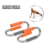 Iron Gym Push Up Bars Deluxe