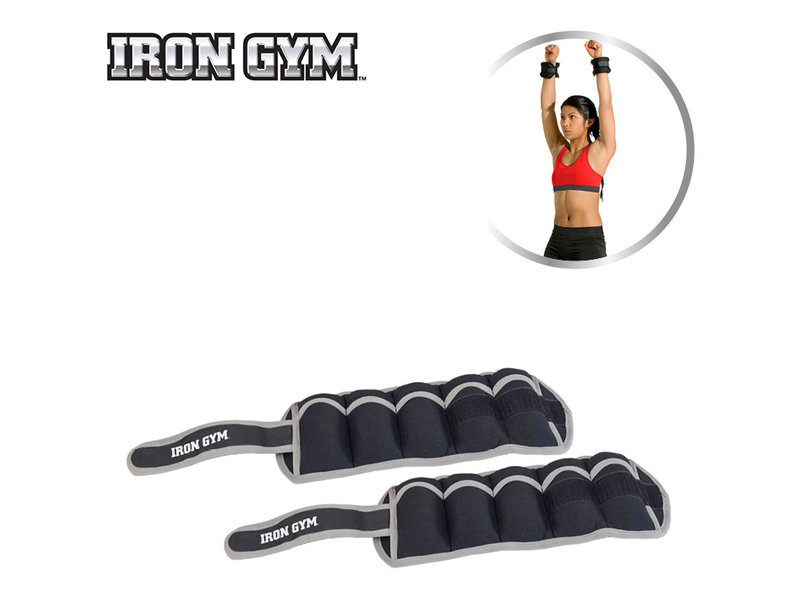 Iron Gym Ankle & Wrist Weight 2kg