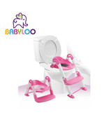 Babyloo Bambino Boost 3-in-1 Training Seat - Pink/White