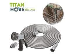 Titan Hose 15m - RVS Tuinslang