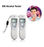 EM Alcohol Tester - Breathalyzer - set of 2
