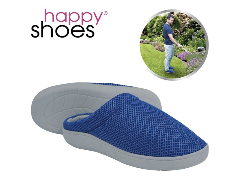Happy Shoes Gel Slippers Blue