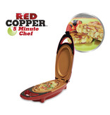 Red Copper 5 Minute Chef - Cooking Plate
