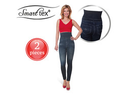 SmartTex Jeaneez Slim-High-Waist-Legging