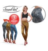 SmartTex Leggings Leather Print