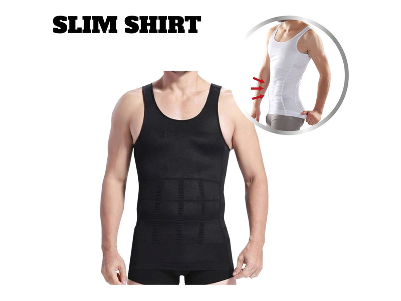 Slim Shirt Men - Black