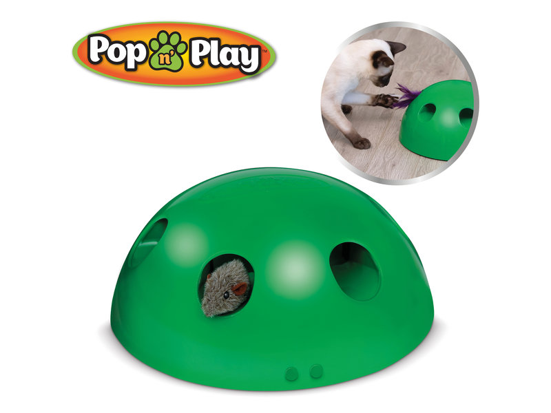 Pop n Play - Interactive Cat Toy