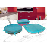 Silic' o Fresh - Silicone Cover - 3 set Big - Blue