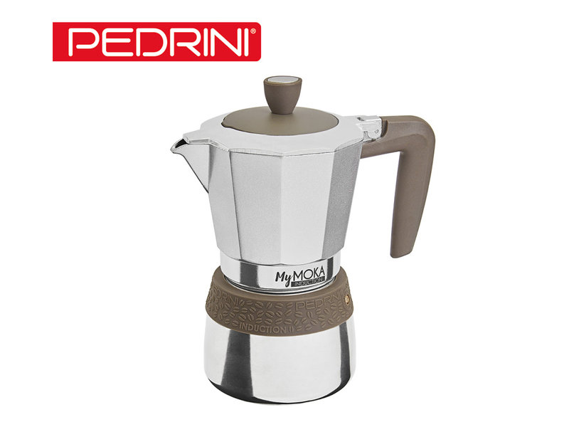Pedrini My Moka Induction Coffeemaker - 6 Cups