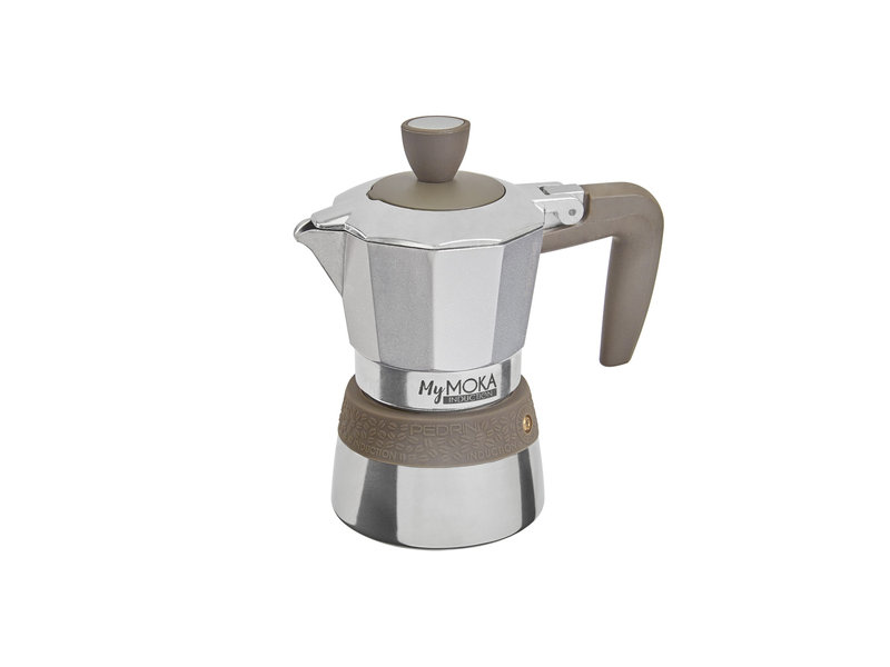 Pedrini My Moka Induction Coffeemaker - 6 Cups