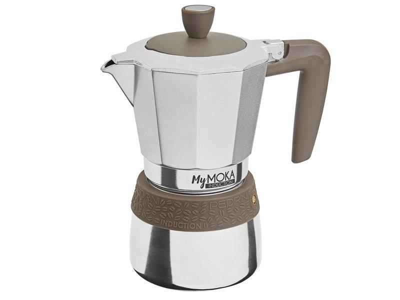 Pedrini My Moka Induction Coffeemaker - 3 Cups