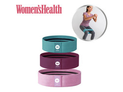 Women's Health Booty Bands - 3 set
