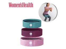Women's Health Booty Bands - 3 set