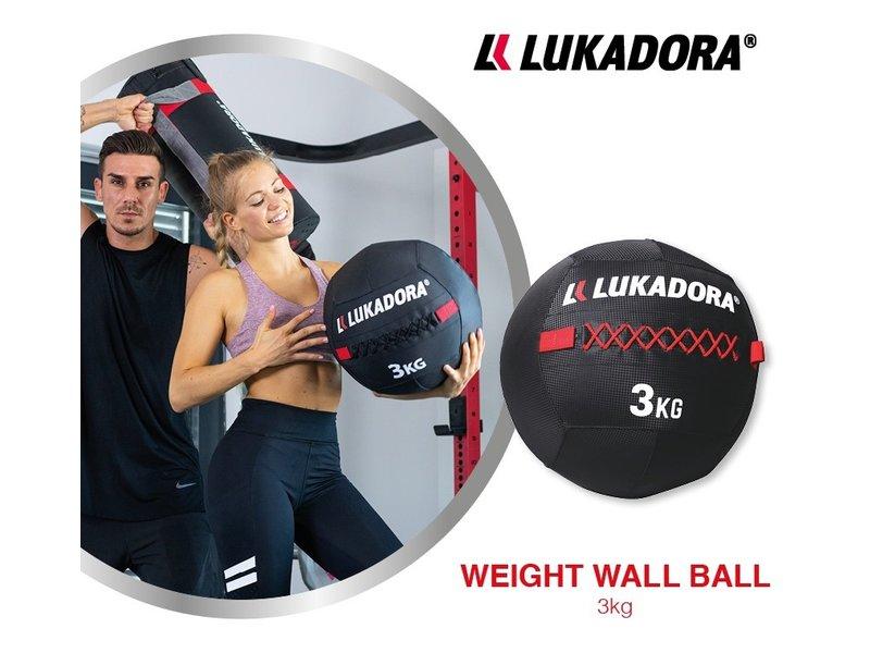 Lukadora Weight Wall Ball - 3 KG