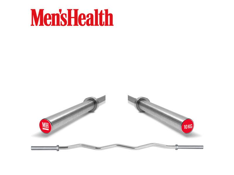 Men's Health Curl Bar - 10KG