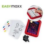 EasyMaxx Malpad Magic Glow - Red