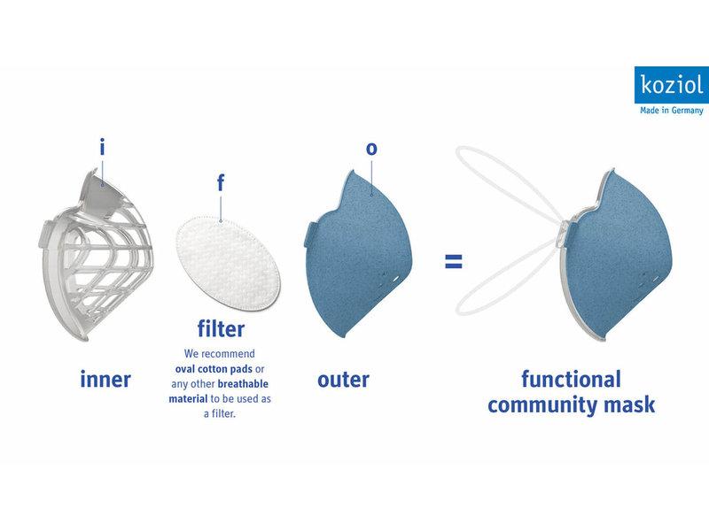 Community Mask - Organic Grey