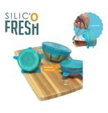 Silic' o Fresh - Silicone Cover - 3 set Small - Blue