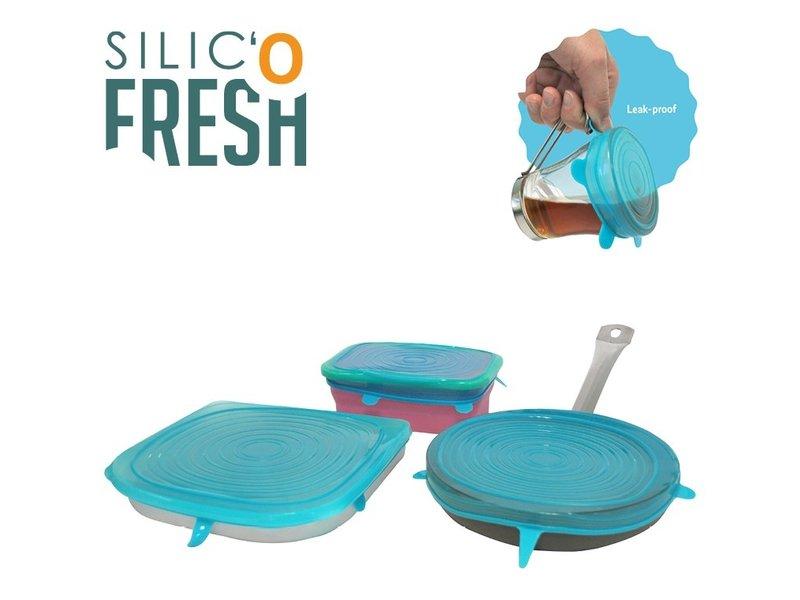 Silic' o Fresh - Silicone Cover - 3 set Big - Blue