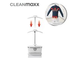 CleanMaxx Iron Dryer - 1800 W - Silver/White