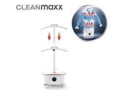 CleanMaxx Iron Dryer - Steam Function - 1800W - White