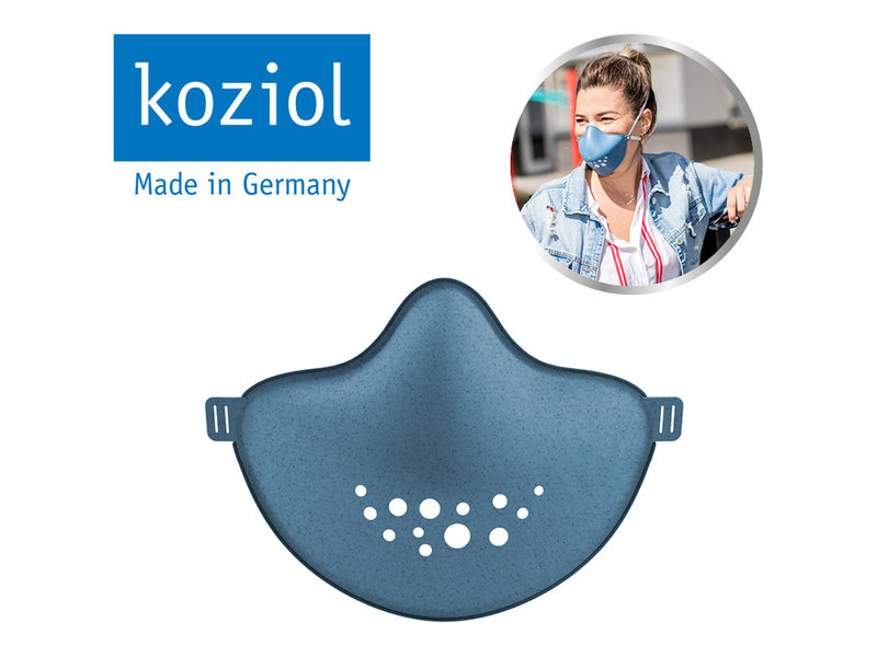 Koziol Community Mask - Organic Blue