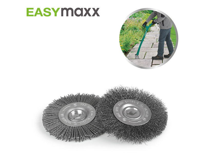 EasyMaxx Grouting Cleaner - Upsell Brush Set