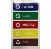 Plafor Sort Bin 45L – Recycling – Blue