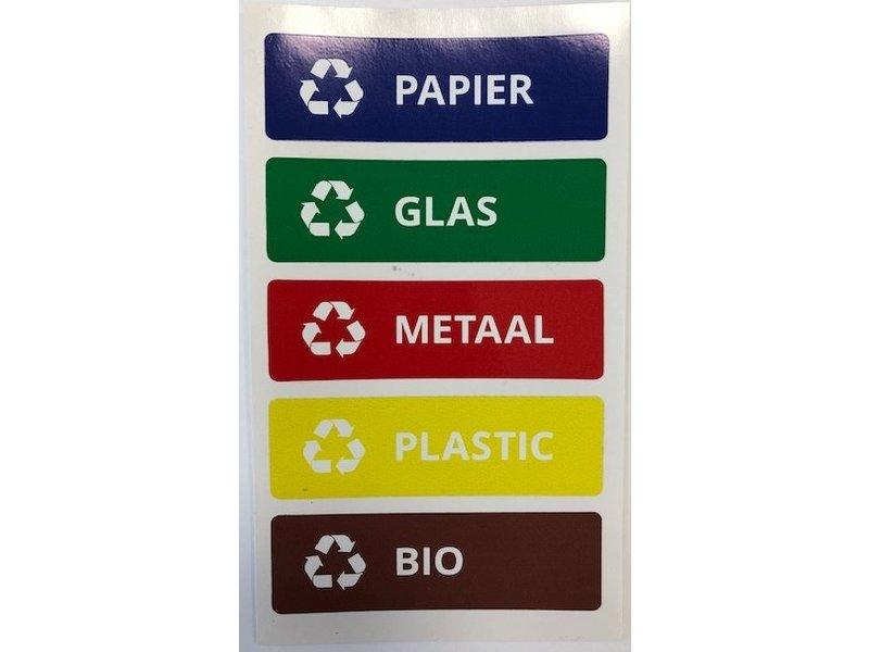 Plafor Sort Bin 45L – Recycling – Yellow