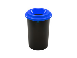 Plafor Eco Bin 50L – Recycling Paper – Blue