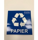 Plafor Eco Bin 50L – Recycling Paper – Red