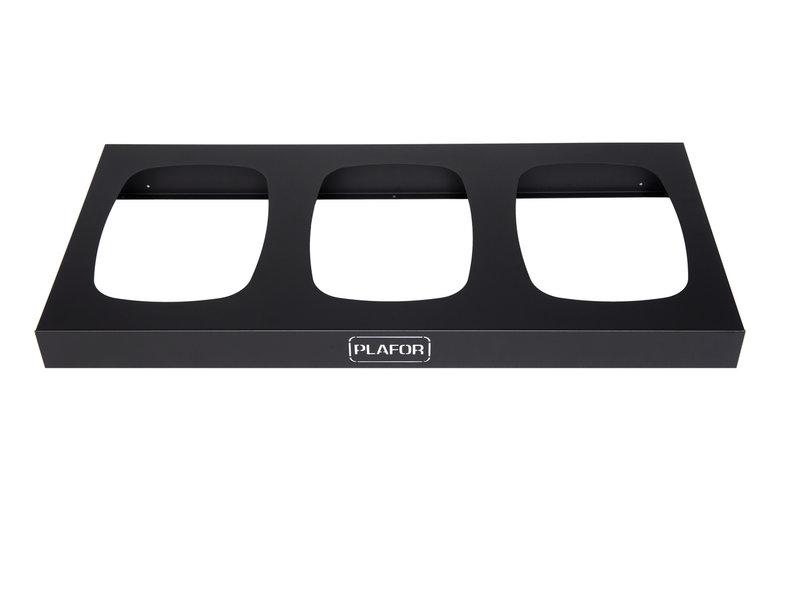 Plafor Upsell Sort Bin - Metal Base Sort Bin 3x90L