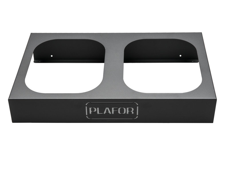 Plafor Upsell Sort Bin - Metal Base Sort Bin 2x90L