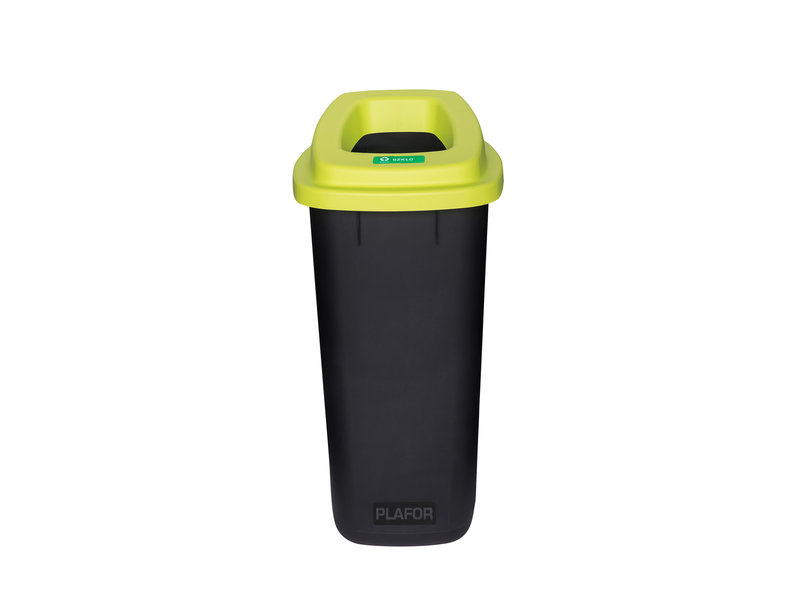 Plafor Sort Bin 90L – Recycling Plastic/Glass – Green