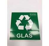 Plafor Sort Bin 90L – Recycling Plastic/Glass – Green