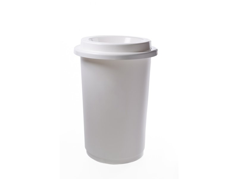 Plafor Eco Bin 50L – Recycling Plastic – White