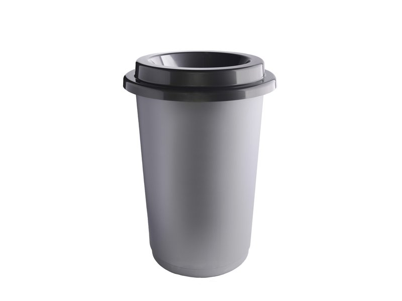 Plafor Eco Bin 50L – Recycling Other – Dark Gray