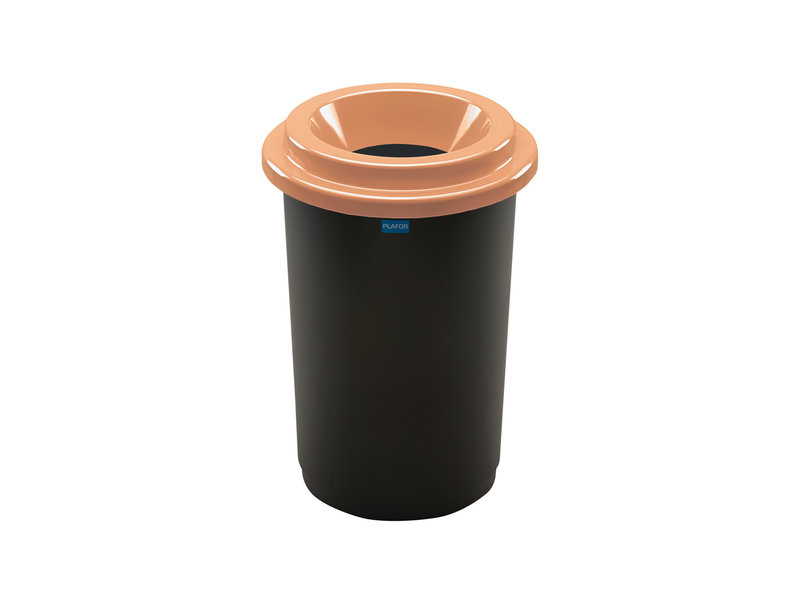 Plafor Eco Bin 50L – Recycling Bio – Brown