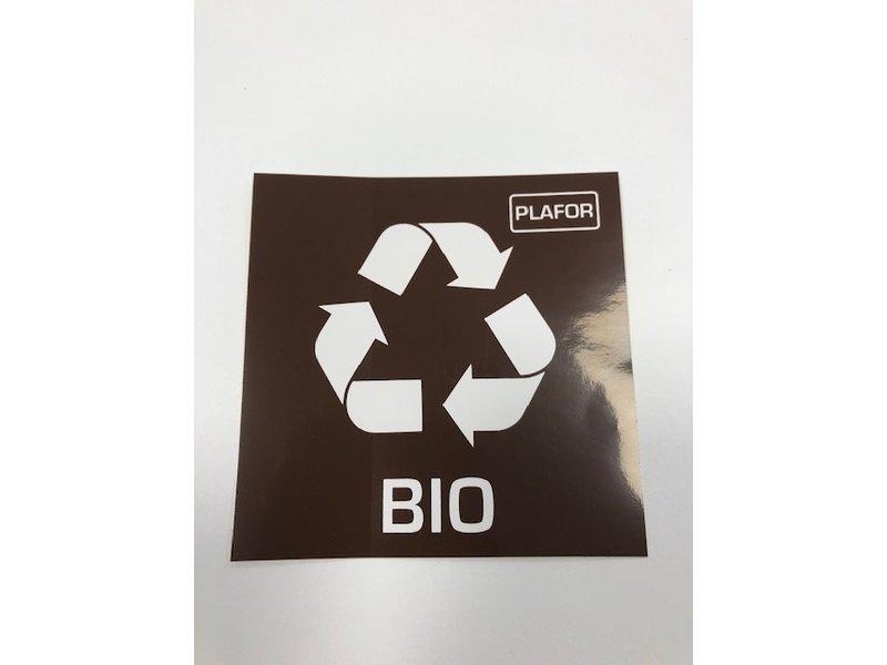 Plafor Eco Bin 50L – Recycling Bio – Brown
