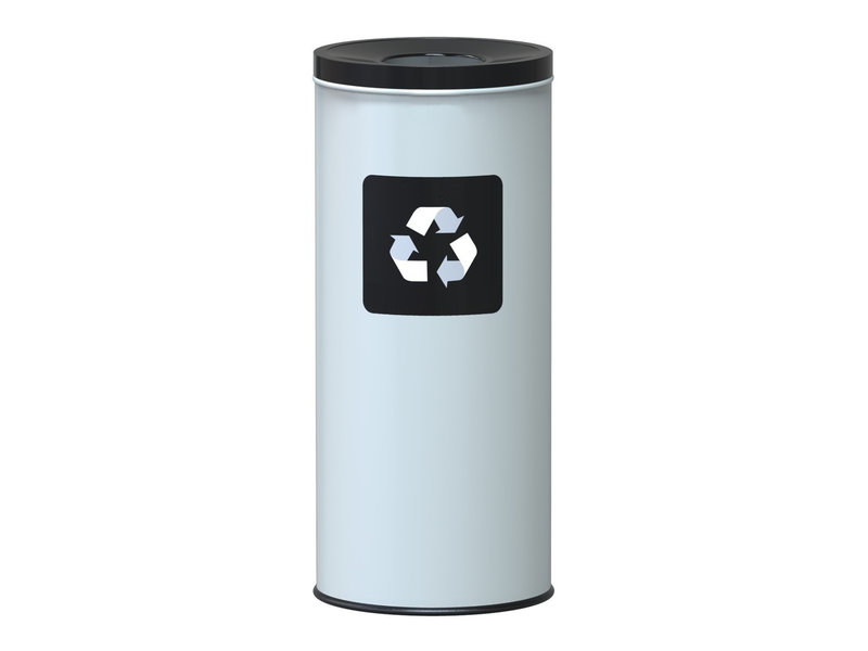 Alda Eco Nord White Bin 45L - Black