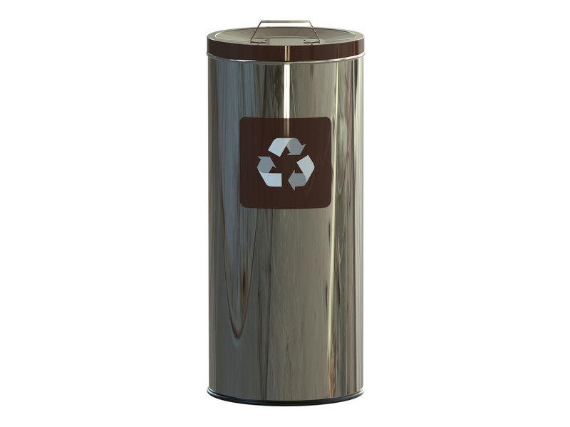 Alda Eco Prestige Bin 45L Lid – Brown